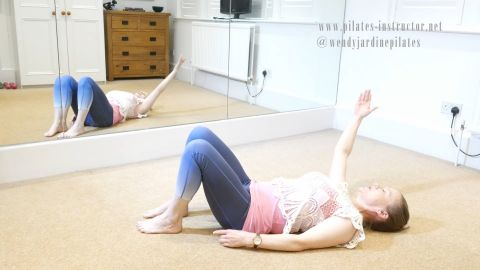 51 For the back, shoulders and core finishing with relaxation (part 3 of 3; 49,50,51))